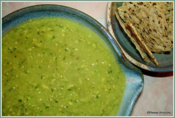 Salsa Verde with Avocado